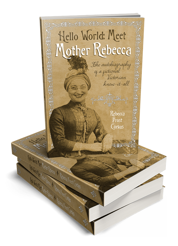 Stack of Mother Rebecca's new book